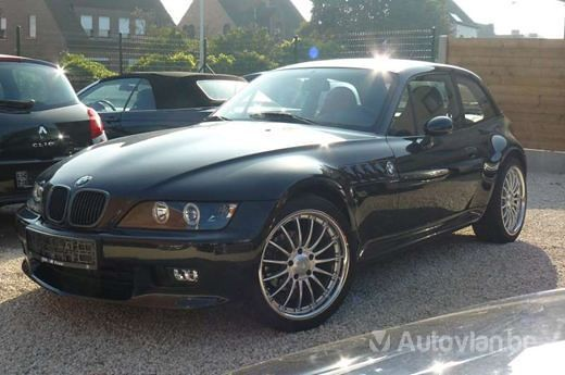 1999 Z3 Coupe | Jet Black | Walnut