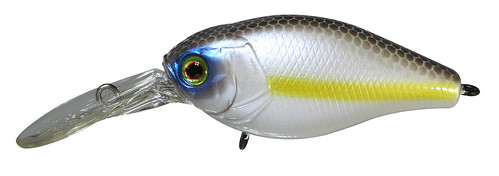 Cherry Chartreuse Shad Jackall Fishing Lures