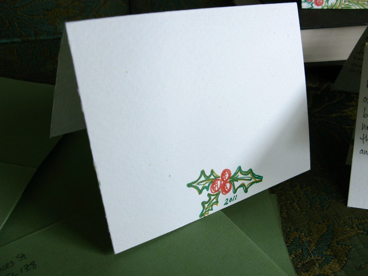 illustrated botanical holiday christmas cards 003