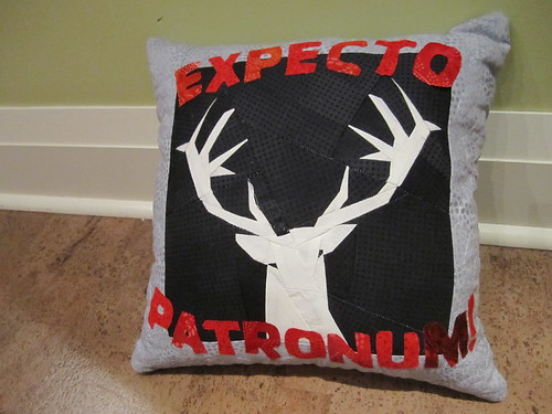 Expecto Patronum!  Pillow
