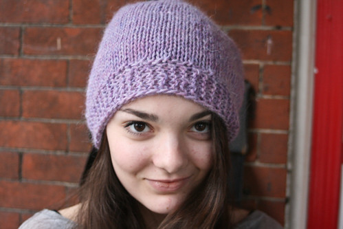 "Ripley in Rowan Creative Focus Worsted ""Heathery Lavender"""