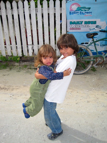 vacations for kids caye caulker belize