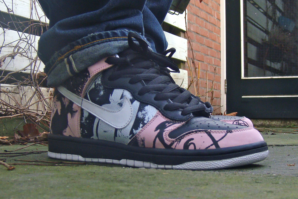 official photos 78ce7 060ba ... Nike Dunk High Pro SB – Unkle Dunkle Futura  by Cali030