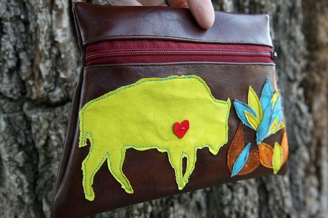 buffalo pouch