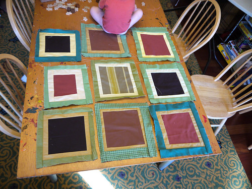 Making a quilt