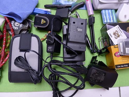 單車環島旅行數位3C用品
