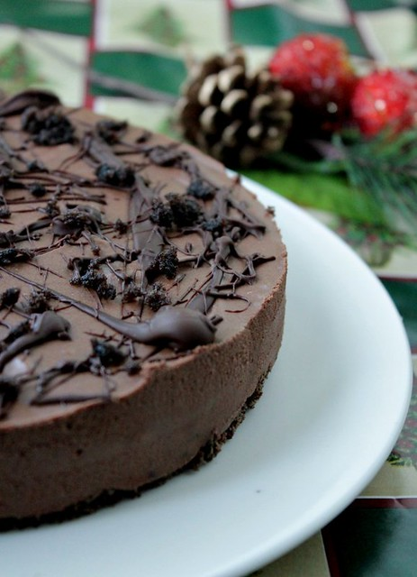 Instant Chocolate mousse Cake