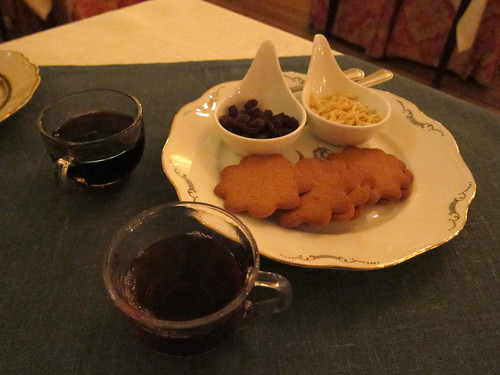 Glogg and Pepparkakor