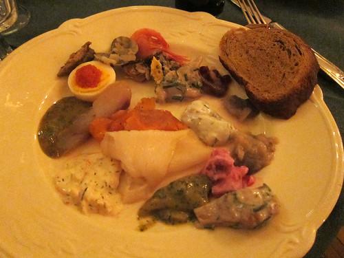 My Seafood/Herring Plate
