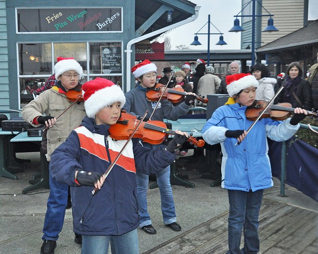 Live Music Xmas Time Steveston