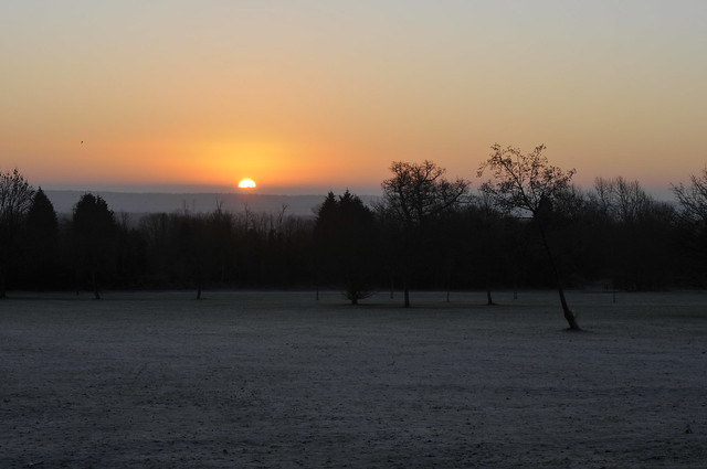 A Frosty Sunrise