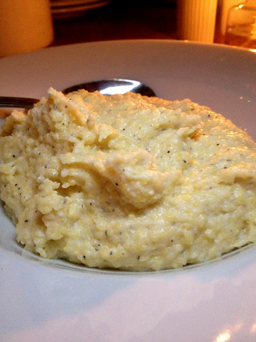 Cheesy Polenta, Chef Ludo's Un Petit Porc Dinner