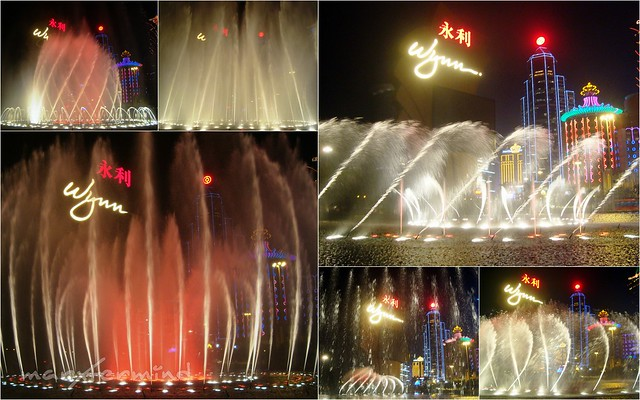 Wynn Hotel Fountain Show (2)