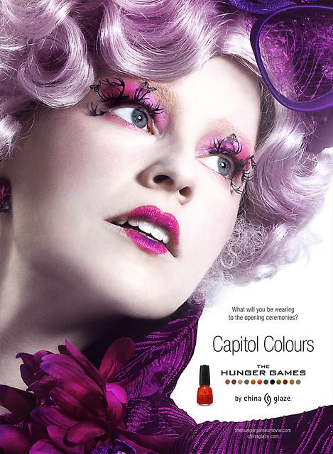 The Hunger Games, Capitol Colours, Effie Trinket