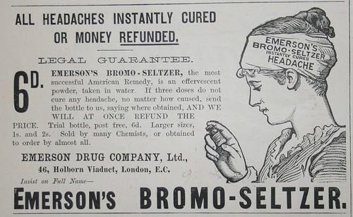 Emerson's Bromo-Seltzer