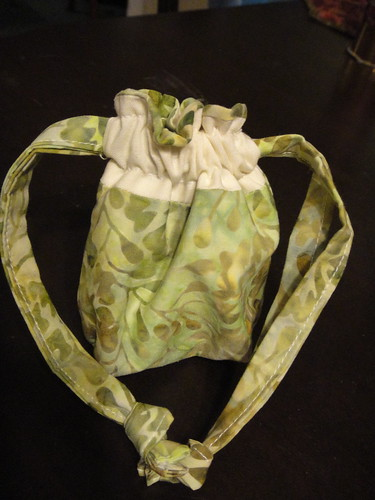 Mini drawstring bag
