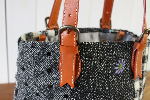 tweed bag_handle