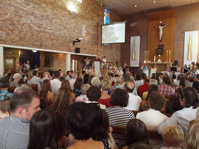 standing room only at church