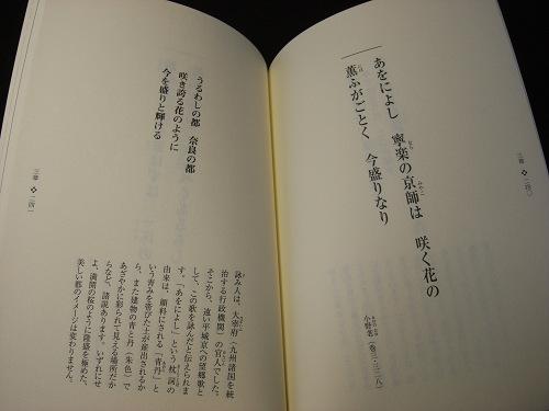 万葉集本「超訳万葉集」など-06