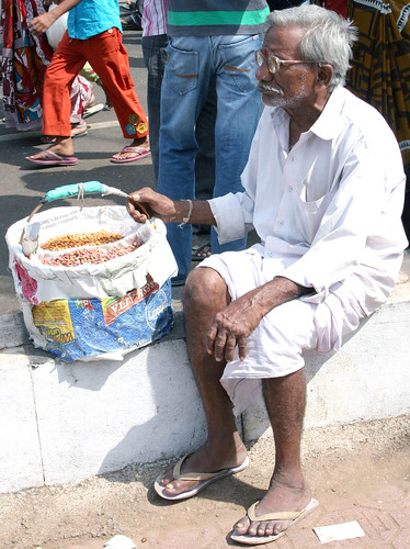 Indian street food vendor