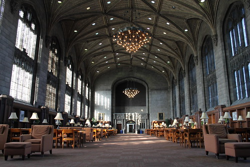 Harper Reading Room.