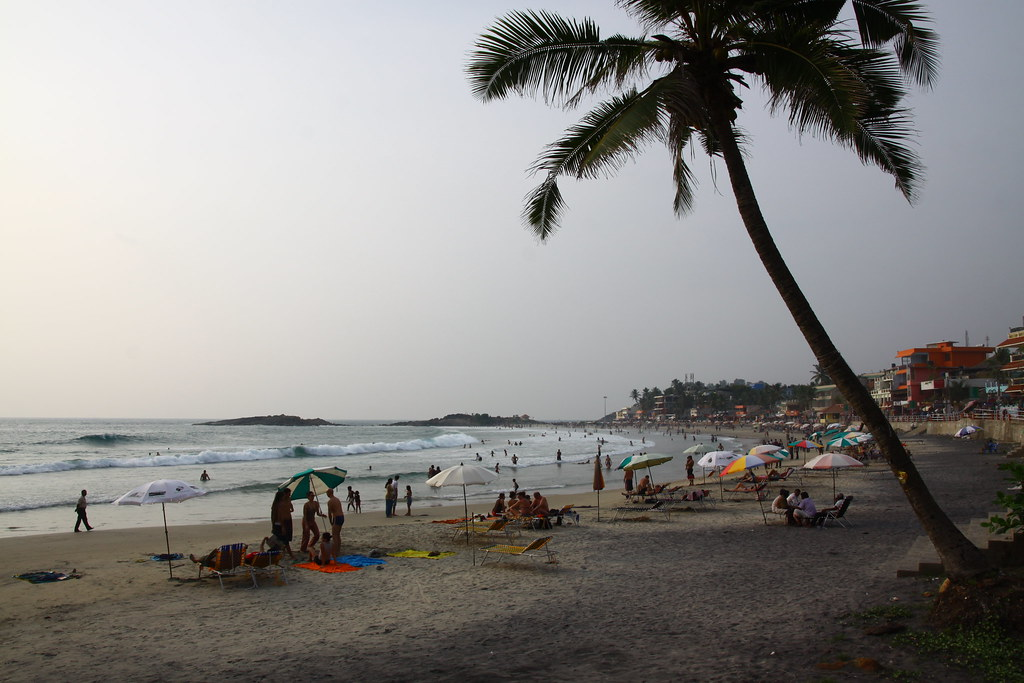 Lighthouse Beach, Kovalam, Kerala