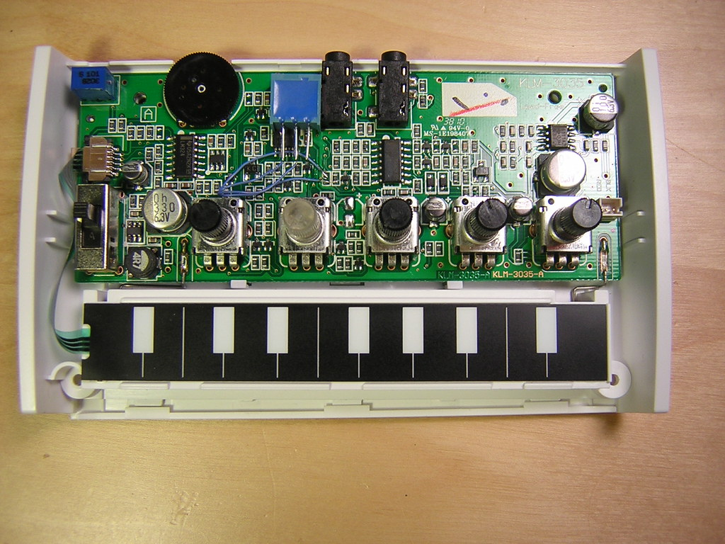 Korg Monotron Filter Tracking Mod