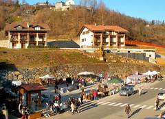 Vidracco market square