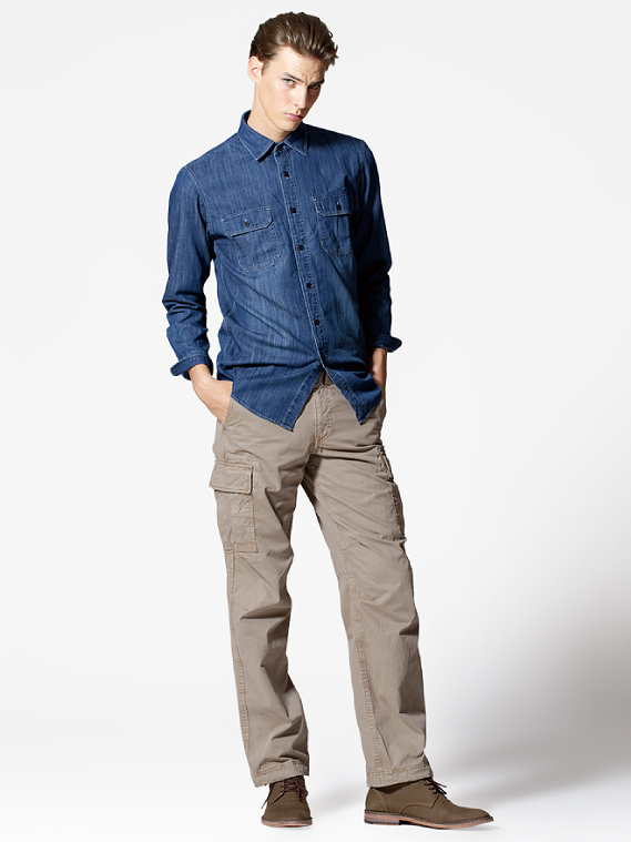 UNIQLO EARLY SPRING STYLE FOR MEN 2012_012Tim Meiresone