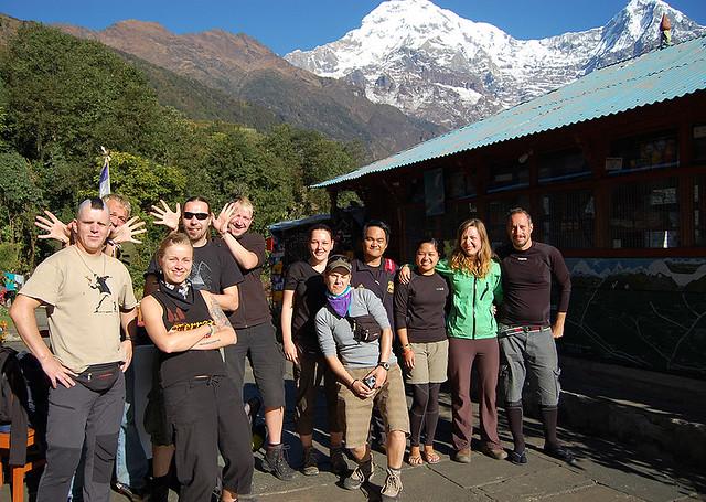 Chomrong, Annapurna, Nepal