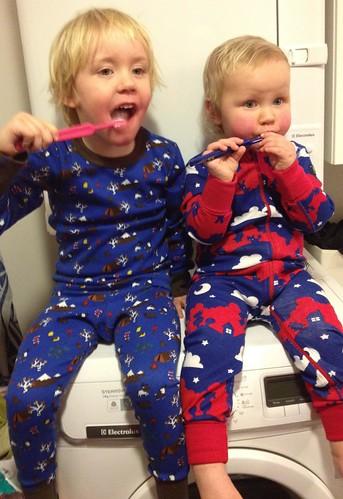 Nya pyjamasar