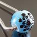 Charm bead : Snowflake
