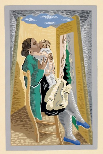 003-Maternidad-Gino Severini-Copyright Wolfsonian-Florida International University