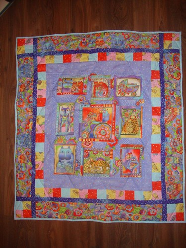 Cat quilt for karate