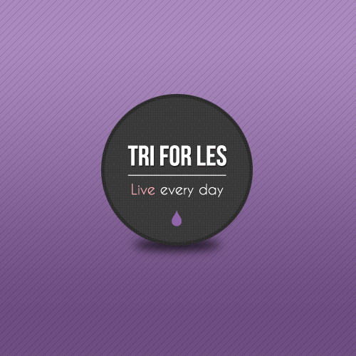Tri for Les Emblem Logo
