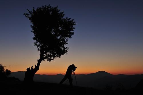 travel nepal sunrise nikon tripod fx dhulikhel d700
