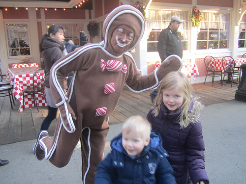 Running with the gingerbread man