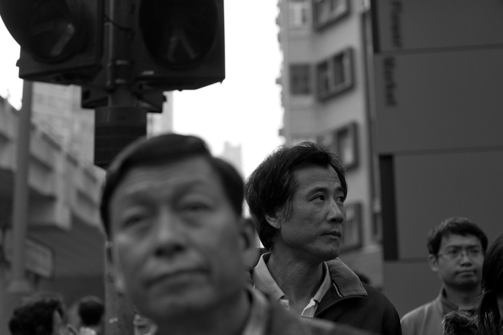 On the Streets of Mongkok