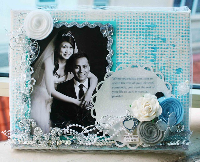 7x9 wedding canvas