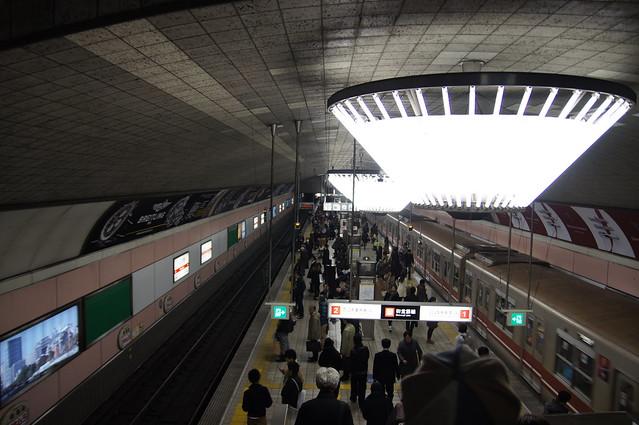 心斎橋駅 Shinsaibashi station