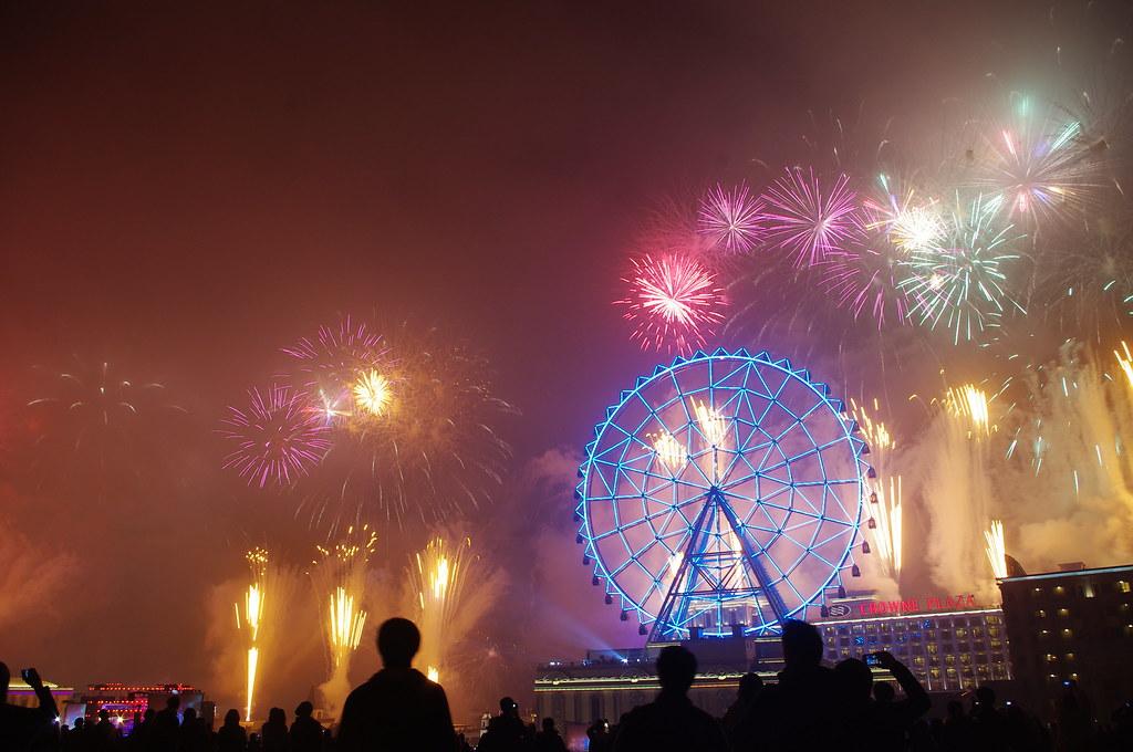 2012 義大世界跨年煙火