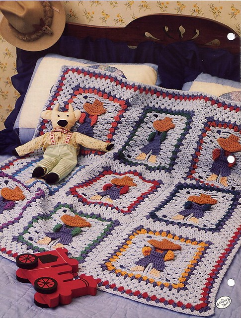 Overall Sam Crochet Afghan Pattern - Annies Attic back Flickr ...