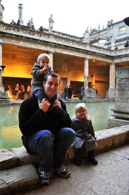 Sergio and Kids at Bath