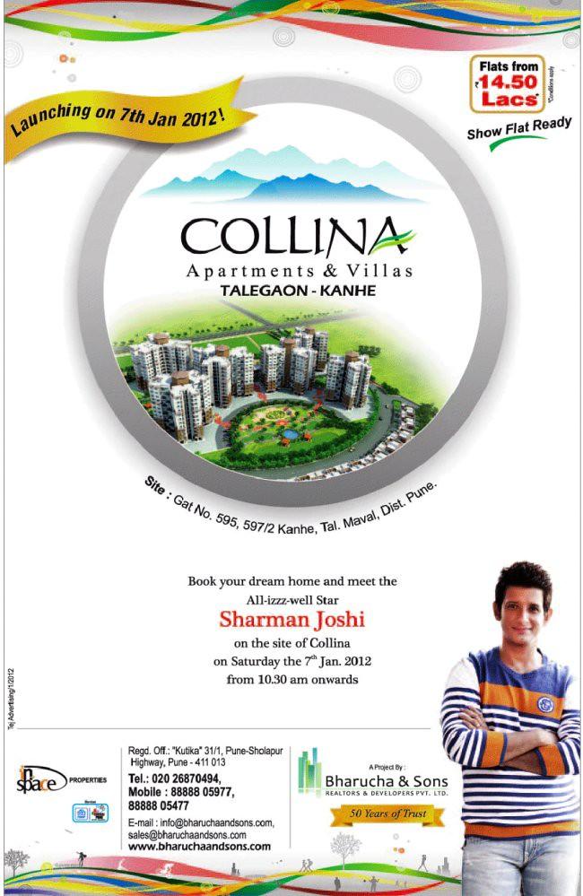 Collina Flats & Villas Kanhe Phata