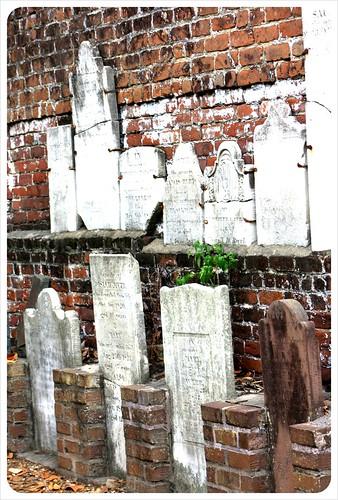 savannah gravestones