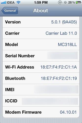 Gevey Ultra - iOS 5.0.1