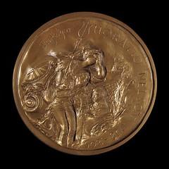 Nelson medal reverse