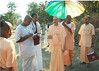 Swami at the Inauguration