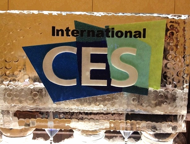 CES Ice Sculpture