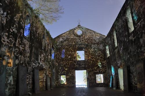 Saint Paul's Church at night (inside)